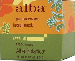 Anti-aging Alba Botanica Hawaiian Papaya Enzyme Facial Mask