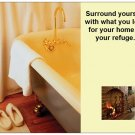 Large Inspirational Magnet Home is Your Refuge