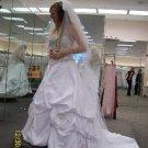 David Bridal White size 2