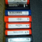 ONE DOZEN 8 TRACK TAPES