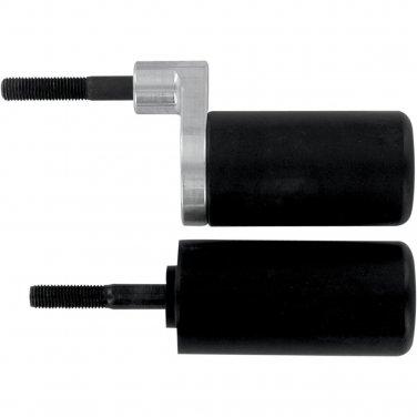 Pro tek Frame Slider Protector Suzuki 2001 2002 2003 GSXR600 GSXR-600 Black