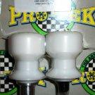 Pro-tek Swing Arm Spool Slider Kawasaki 2000 2001 2002 2003 Ninja ZX7 ZX7R ZX7R White SAS-10W