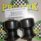 Pro-tek Swing Arm Spool Slider Kawasaki 2006 2007 2008 2009 2010 Versys 650 KLE650 Black SAS-11K