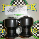 Pro-tek Swing Arm Spool Slider Suzuki 2004 2005 2006 2007 2008 2009 SV650 SV650S Black SAS-20K