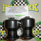 Pro-tek Swing Arm Spool Slider Suzuki 1998 1999 2000 2001 2002 GSXR750 GSXR-750 Black SAS-20K