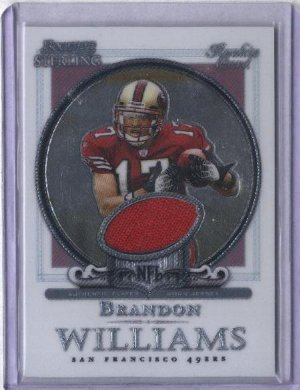 2006 Bowman Sterling Brandon Williams GU