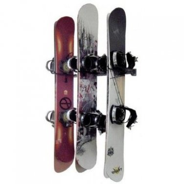 Monkey Bars Storage Snowboard Rack