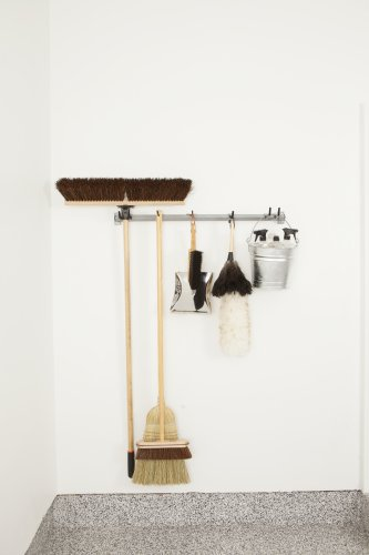 Mop & Broom Storage Rack
