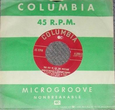 Paul Weston Anna & Dutch Treat Columbia 45 Record NM