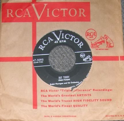 RCA Ralph Flanagan Hot Toddy & Serenade 45 Record NM