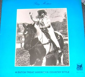 Patsy Montana A Dutch Treat American Country Signed LP VERY RARE