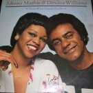 Johnny Mathis Deniece Williams Friends Are For LP NM
