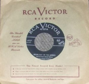 RARE Sauter Finegan Orchestra Paris in April RCA 45 NM