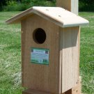 Cedar Kestrel & Screech Owl House