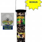 *BONUS* Droll Yankees Onyx Clever Clean 12&quot; Seed Feeder (Microban) & Seed Tray