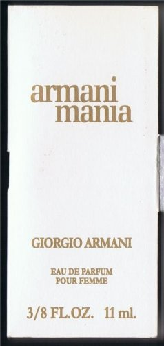 TRAVELSIZE  armani mania Size 3/8 FL.OZ,11 ml