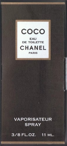 Travelsize CHANEL COCO Size.3/8 FL.OZ - 11ML.