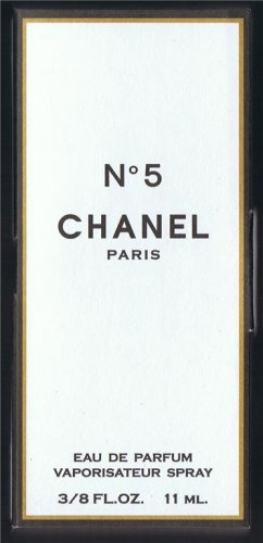 Travelsize CHANEL No.5 Size 3/8 FL.OZ,11ML
