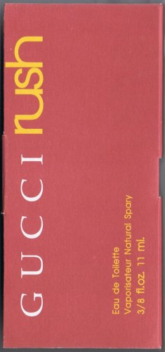 Travelsize*GUCCI rush* Size.3/8 FL.OZ-11ML