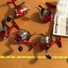 (5) Shakespeare Synergy Steel 6U Underspin Reel Lot, New, No packaging