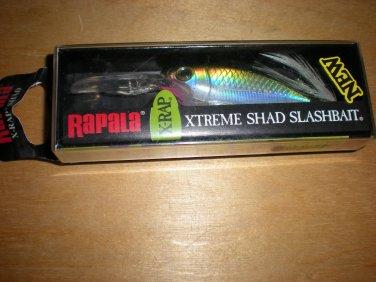 Rapala X-Rap Shad, XRS08  Suspending Crankbait, 1/2 oz, Olive Green