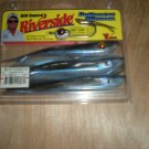 "Bill Dance Riverside 6"" Buttoneye Minnow, Smokin Shad, Plastic Jerk Bait, NOS"