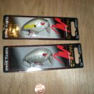 (2) MATZUO  TORYU SHAD, Sexy Shad, Pearl ,Shallow Bass,Pike,  Crankbait, New