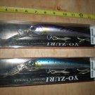 "(2) Yo-zuri Saltwater 7"" Hydromagnum (S) Tuna Trolling Lures, Sardine & Bonita"