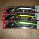 "(3) Yo-zuri Saltwater 5.5"" Hydromagnum (S)Trolling Lures,1-3/4 oz,Green Mack,Bonita, Dorado New"