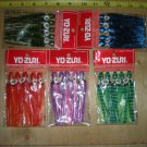 "(5) Assorted Pks Yo-Zuri 4-1/4"" Octopus Squid Skirt (25 skirts total), NEW"