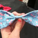 Vintage Floral Bow