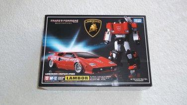 Transformers Takara Tomy Masterpiece MP-12 Sideswipe Lamborghini MISB