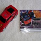 Transformers Botcon 2012 Invasion Shatter Glass Tracks New Complete + Biocard