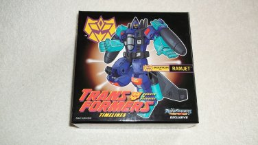 Transformers Hasbro TFCC Club Exclusive 2011 Classics G2 Ramjet New MIB
