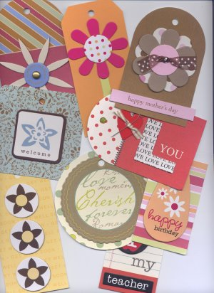Pack Of 18 Tags/Toppers Multi Occasion