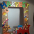 Tan-Thanksgiving Harvest Frame-Cute Crafty Hand Painted Picture Frame for Kids (5 in x 7 in)
