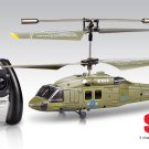 Syma S102G Infrared Control Helicopter Mini Black Hawk 3.5CH Gyro