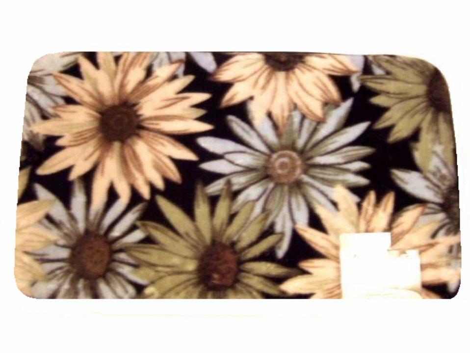 Floral Sunflowers Rug Comfort Mat