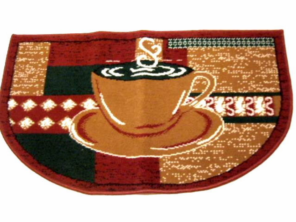 Kitchen Rug Coffee Cups