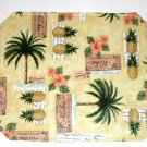 Palm Trees Pineapples Placemats Tropical Kitchen Decor
