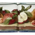 Fruit Themed Wallpaper Border Apples Cherries Pears