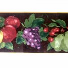 Fruit Wallpaper Border Apples Grapes Pears Cherries