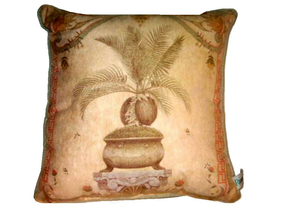 Tropical Palm Tree Pillow Riverdale