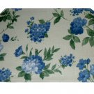 Floral Placemats Blue Flowers