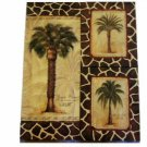 Palm Trees 3 Piece Canvas Wall Art Tropical Decor