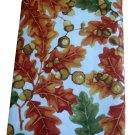 Autumn Leaves Acorns Fall Tablecloth