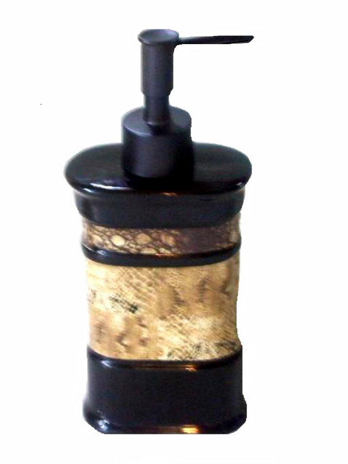 Zambia Animal Prints Lotion Pump Soap Dispenser