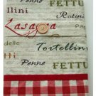 Italian Theme Kitchen Window Valance