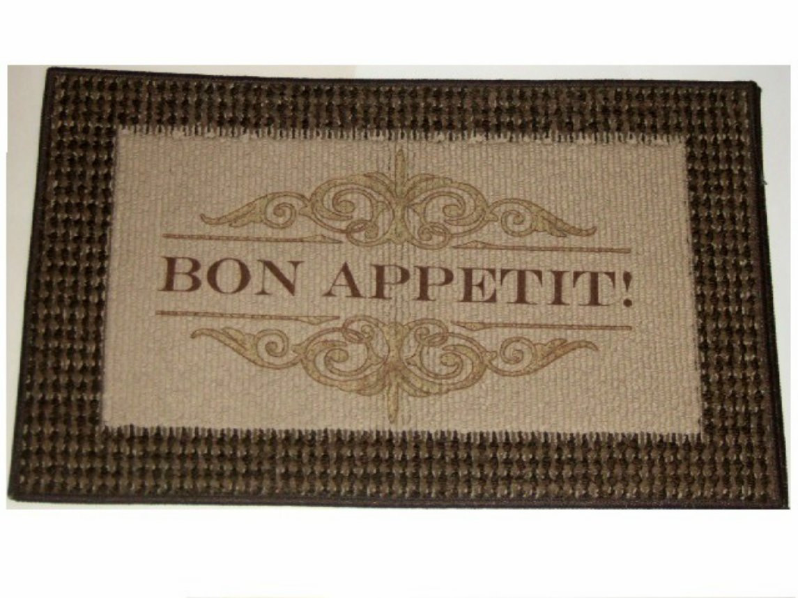 Bon Appetit Cafe Kitchen Rug
