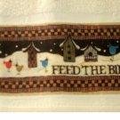 Birds Birdhouses Fingertip Tea Towels Set